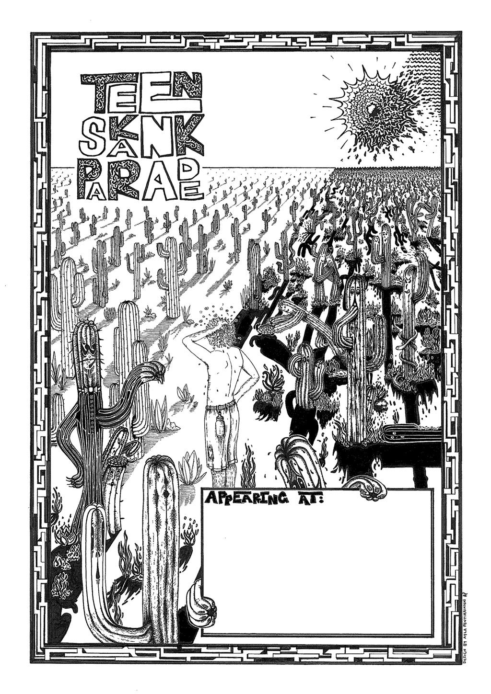 Teen Skank Parade - Poster