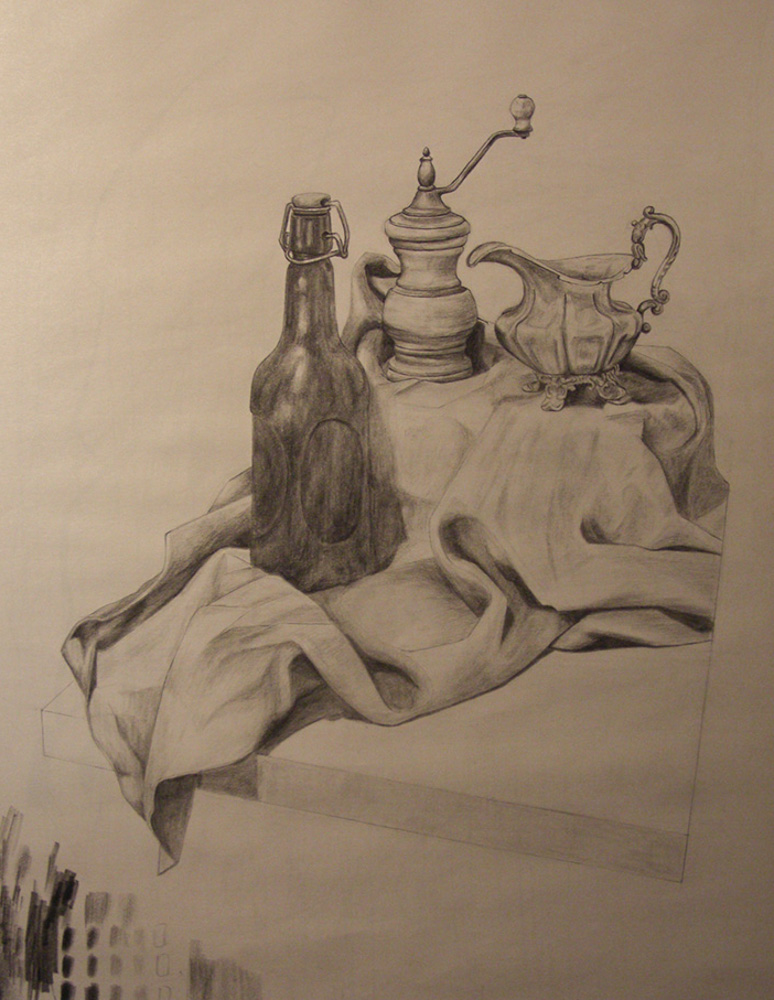 Ayla-StillLife-MilkJug-GrolschBottle-PepperGrinder