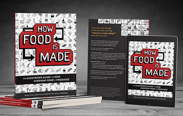 How Food is Made graphic book